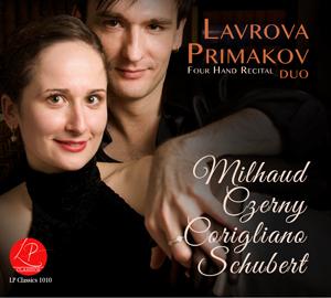 Lavrova Primakov Duo | Four Hand Recital | Milhaud, Czerny, Corigliano, Schubert