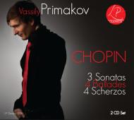 Vassily Primakov Chopin 2 CD set Cover Photo