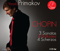 Vassily Primakov Chopin 2 CD set Cover Photo