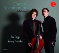 Chopin Rachmaninoff Cello Sonatas Cover