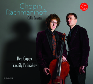 Chopin Rachmaninoff Cello Sonatas Cover